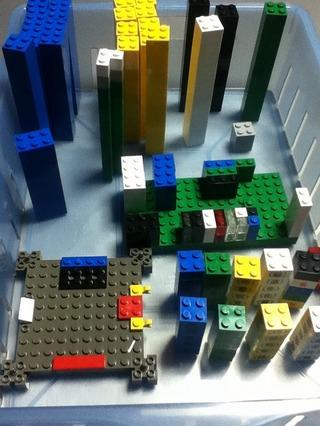 レゴブロックパーツ3100円分